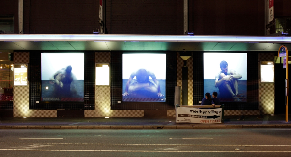Self Seeming (Triptych) - 2012 - video-installation view