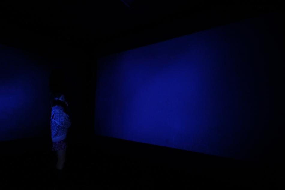 Kleined of Blue - 2012 - video-installation view